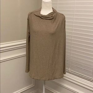 Free People Tops - Free People Open Back Loose Fit Top Sz M